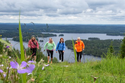 Hiking trip in Tahko